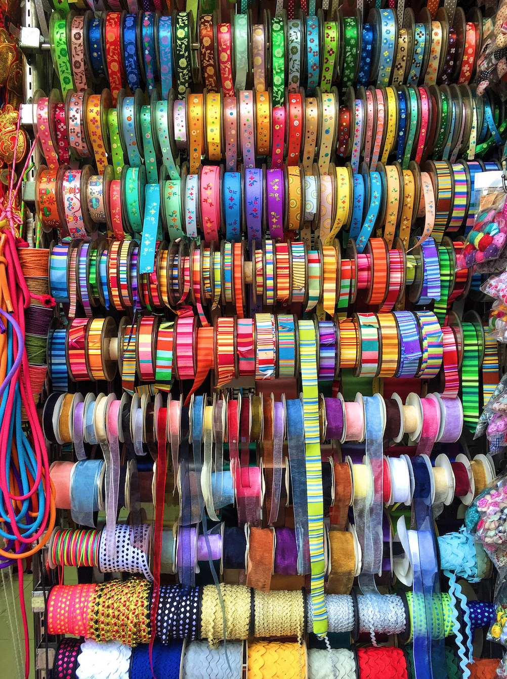 ribbons in sham shui po