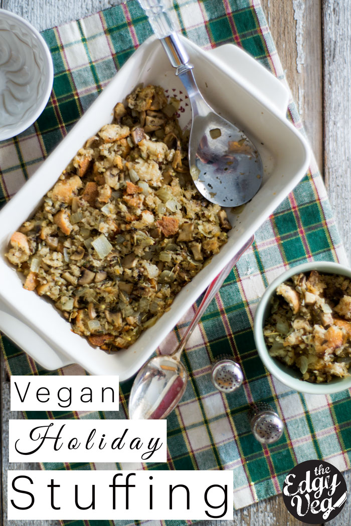 traditional vegan thanksgiving stuffing