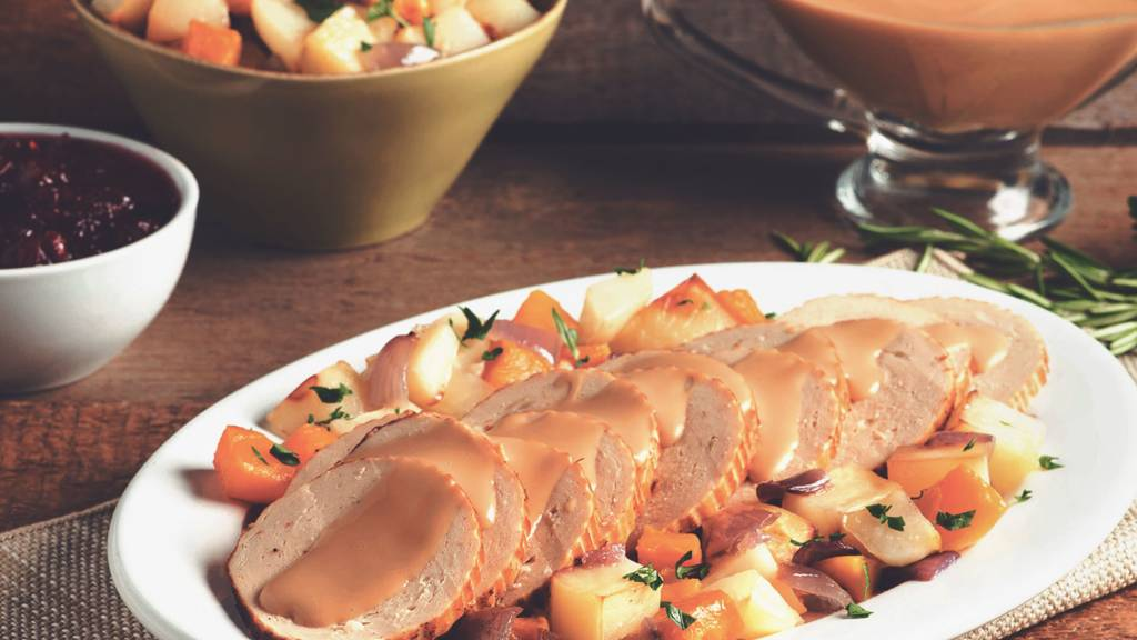 quorn meatless turkey roast vegan thanksgiving