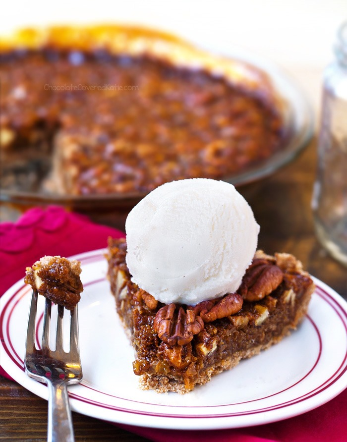 vegan thanksgiving pecan pie