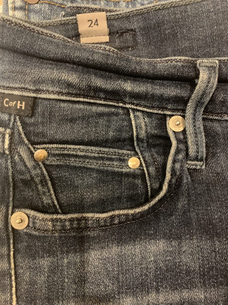 grommets on jeans