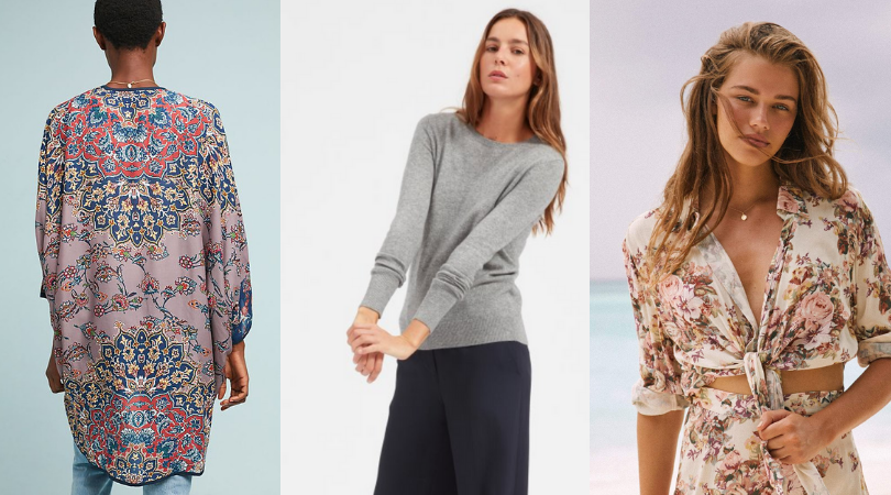 what to pack for India, layering tops