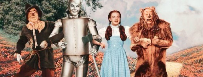 the wizard of oz dorthy wearing gingham fabric