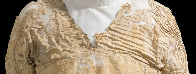 The world's oldest dress via National Geographic