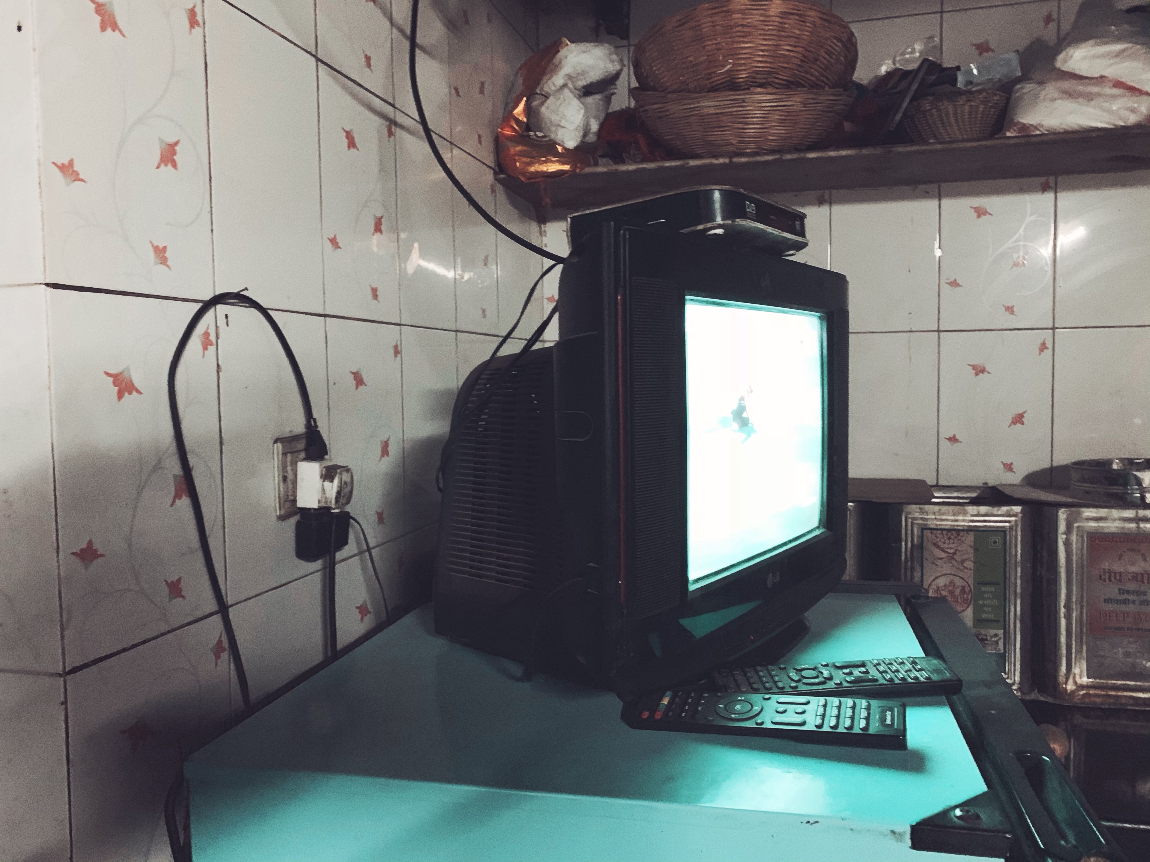 vintage tv in india