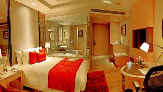 room at Radisson Jaipur City India