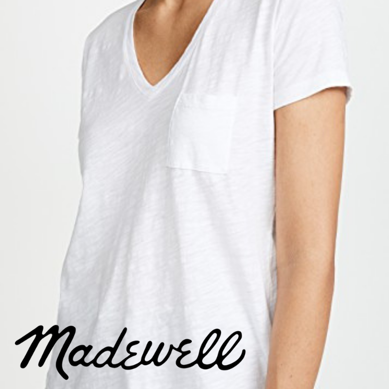 best white t-shirt madewell