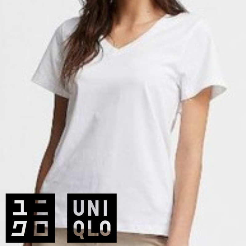 best white t-shirt uniqlo