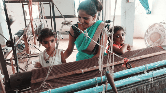 is artisan fashion good quality? artisans at loom