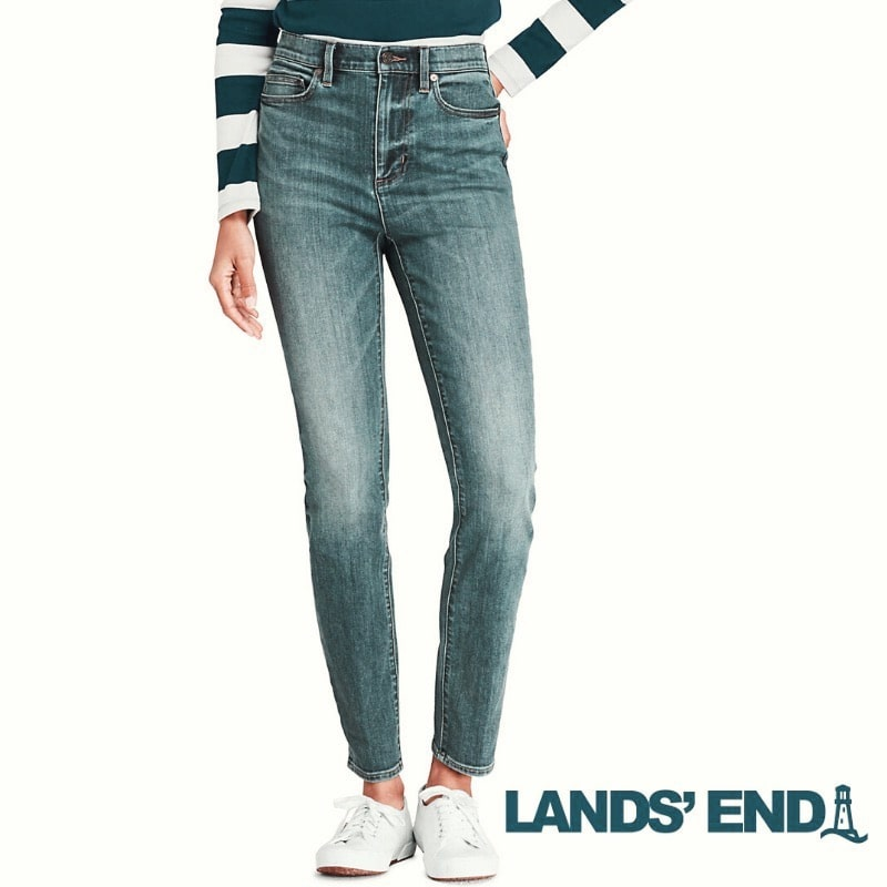 cheap jeans for women lands end