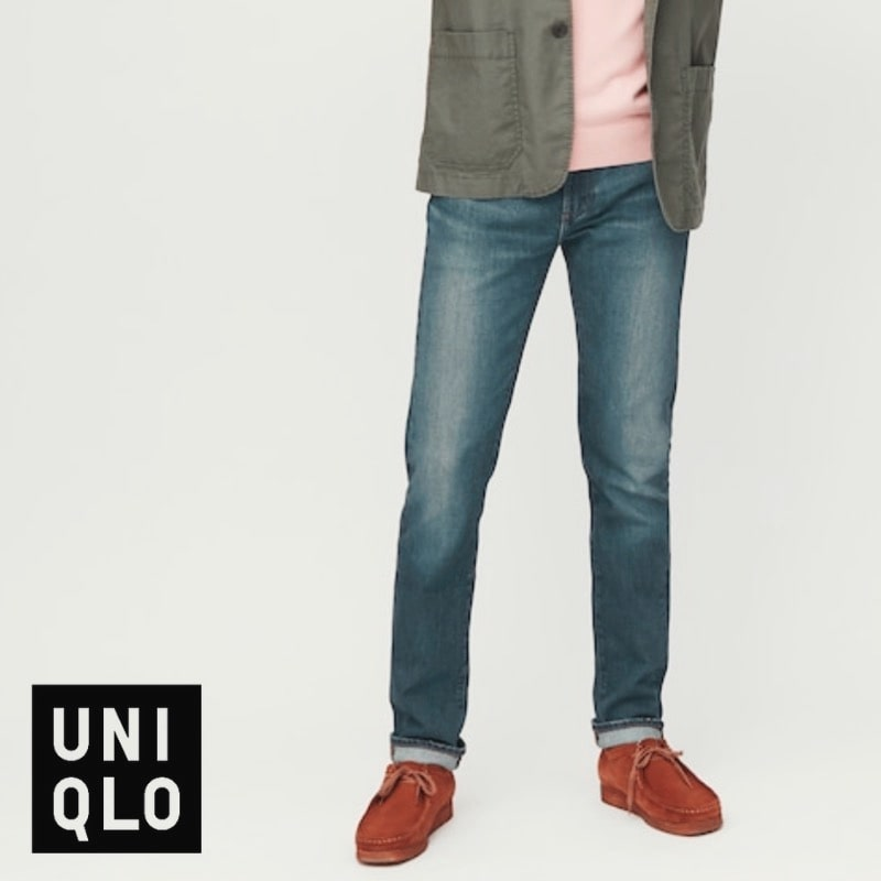 cheap mens jeans with stretch uniqlo